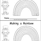 This emergent reader little book will help young students practice early reading skills, while reading about a fun subject: rainbows in honor of St. Patrick's Day!!     On each page, a new layer of the rainbow is added as the students help the leprechaun make a rainbow!!    Sight words included in this book are I, can, make, will, you, help, me, use, on, our, find, and of.