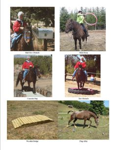 Different Obstacles 3 of 4 Have Fun & Happy Trails