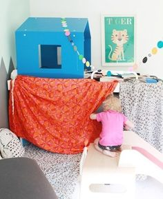 Forts, Tents & Other Indoor Playspaces