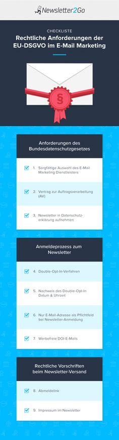 Rechtliche Anforderungen der EU-DSGVO im Onlinemarketing - Picture Archive E-mail Marketing, Marketing Automation, Online Marketing, Interesting Reads, Accounting, Entrepreneur, Web Design, Motivation, Business