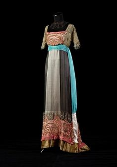 Ball gown, 1912, collection of Alexandre Vassiliev. See: http://vk.com/exhibitionvassiliev