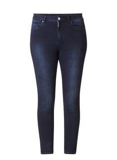 Slimfit jeans van Ivy Beau met donkere wassing http://www.beyou-dameskleding.nl/ivy-beau/