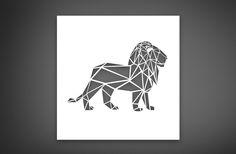 Canvas Cutout #lion #africanbigfive