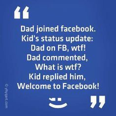 Facebook Humor | Welcome to Facebook!