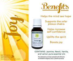 Buy Joy Essential Oil Blend - (15 ml) - Biosource