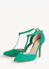in momentum t-strap heels