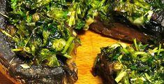 μανιτάρια γεμιστά στο φούρνο - Pandespani.com Seaweed Salad, Steak, Cooking, Ethnic Recipes, Food, Kitchen, Essen, Steaks, Meals