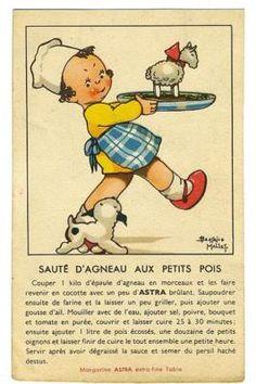 Beatrice MALLET advertising Sauce 4 Lamb 1920s postcard