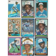 HUGE 35 Different TONY FENANDEZ cards lot 1985 - 1994 Blue Jays Padres Mets Listing in the 1980-1989,Sets,MLB,Baseball,Sports Cards,Sport Memorabilia & Cards Category on eBid United States | 148427220