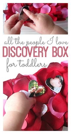 such a sweet way to celebrate valentine's day with a toddler / from our blog ambassador @Allison @ No Time For Flash Cards