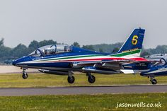 Frecce Tricolori landing together.  See the rest of my aviation images in full size by clicking on the thumbnail.  They are also available to buy in a variety for formats or as a digital download without the watermark. #FrecceTricolori #riat
