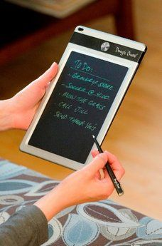 Boogie Board Jot eWriter with 8.5-Inch LCD. Want it? Own it? Add it to your profile on unioncy.com #gadgets #tech #electronics #gear High Tech Gadgets, Gadgets And Gizmos, Technology Gadgets, Science And Technology, Camera Cards, Latest Smartphones, Internet Trends, Writing Boards, Pocket Notebook