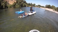 Kayaker Hooks Himself - Rescue Water Craft Assist