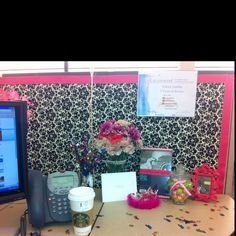 decorate my cubicle on pinterest office cubicle decorations cute