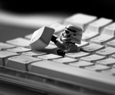 Esc! by gravis86 #Stormtrooper #Keyboard