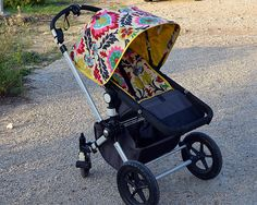Set Bugaboo Cameleon sun canopy and cover seat.