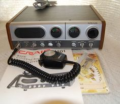 CRAIG BASE TRANSCEIVER 4201 CB RADIO