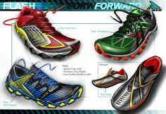 A quick design language proposal for Power in The Flash insignia is incorporated into the function of the shoe rather than just an aesthetic afterthought. Shoe Sketches, Mens Skechers, Training Sneakers, Cleats, Design Language, Kicks, Ford, Footwear, Mens Fashion