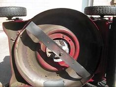 How to Sharpen a Lawnmower Blade - YouTube