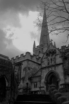 Scary abandoned church...Frome