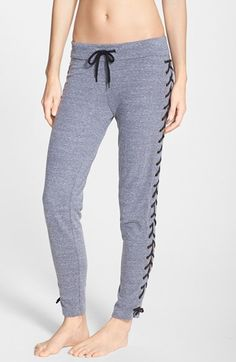Monrow Lace Up Sweatpants available at #Nordstrom