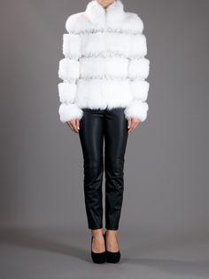 Blumarine- Fur Lined Coat