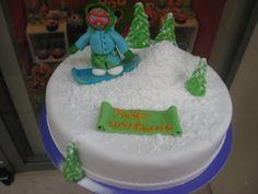 Τούρτες Γενεθλίων - Snowboard! #sugarela #TourtesGenethlion #snowboard #BirthdayCakes