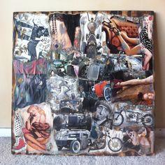 Wall Art  Ol' Lady Danger by TheJewelryBoard on Etsy, $75.00