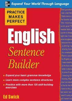 Practice makes perfect english sentence builder(bbs}