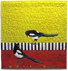Karin Oestergaard: love everything about this quilt especially the background quilting