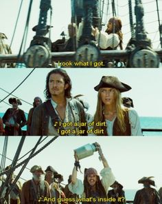 "Pirates of the Caribbean ""I've got a jar of dirt!"""
