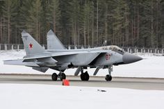 "Russian Mikoyan Mig-31BM ""Foxhound""."
