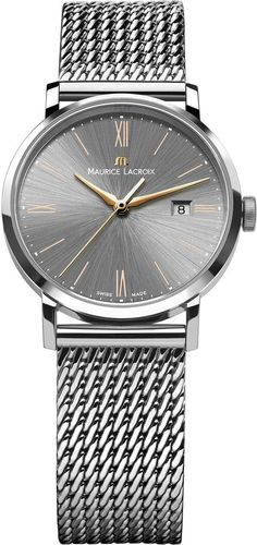 @mauricelacroix  Watch Eliros Ladies #bezel-fixed #bracelet-strap-steel #brand-maurice-lacroix #case-depth-9mm #case-material-steel #case-width-30mm #date-yes #delivery-timescale-4-7-days #dial-colour-grey #gender-ladies #luxury #movement-quartz-battery #official-stockist-for-maurice-lacroix-watches #packaging-maurice-lacroix-watch-packaging #style-dress #subcat-eliros #supplier-model-no-el1084-ss002-811 #warranty-maurice-lacroix-official-2-year-guarantee #water-resistant-50m
