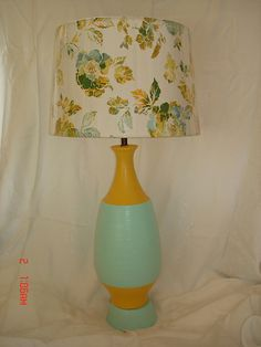 Painted Lamp Shade | My Painted Stuff | Pinterest | Painted lamp ...