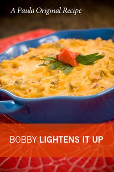 Bobby Deen's Lighter Chicken Boudine...the original is wonderful, so I'm hoping this is just as good!