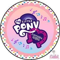 Kit Equestria Girls ( My Little Pony ) Equestria Girls, Powerpuff Girls, Festa Do My Little Pony, Goth Disney Princesses, Imagenes My Little Pony, Bday Girl, Adventure Time Anime, Princess Bubblegum, Party Printables