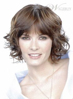 Chic Polished Elegant Short Curly Wig 100% Real Human Hair about 10 Inches