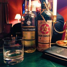 giavos1982 Chartreuse and 1928 Rhum Charleston at the Carlyle. #lamelgiavos