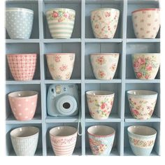 Beatiful latte cups by GreenGate, we adore all of them !!!