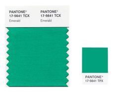 "The Pantone Color Institute introduced Emerald as its color of 2013 ""to promote balance and harmony."""