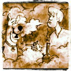 marijuana quote ~ ☮レ o √乇 ❥ L❃ve ☮~ღ~*~*✿⊱☮ Scooby Doo and Shaggy