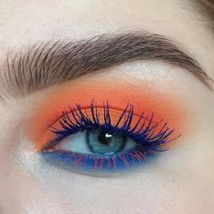 """5,765 Likes, 88 Comments - Stella Sironen (@stella.s.makeup) on Instagram: """"@maccosmetics work it out collection chromagraphic eye pencils in Genuine Orange & Marine Ultra,…"""""""