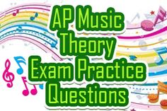The AP Music Theory exam exists to gauge high school student's knowledge of music theory to allow them the opportunity of earning college credit and/or advanced placement. The exam, administered in May, lasts for 2 hours and 40 minutes and consists of 2 sections. The first section lasts for 80 minutes, is composed of 75 multiple-choice questions, and constitutes 45% of the exam score. The second section lasts for 80 minutes, is composed of 9 free-response questions...