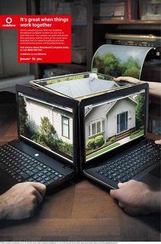 Vodafone: Laptop | Ads of the World™