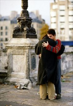 Denis Lavant and Juliette Binoche in Les amants du Pont-Neuf directed by Leos…
