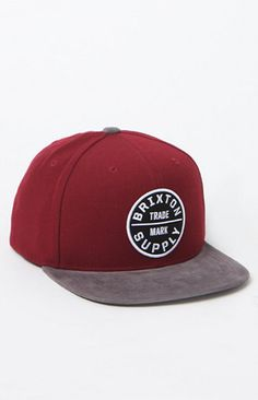 Brixton creates a new twist on a classic snapback hat. The Oath III Snapback Hat has been a staple for Brixton, they remix this cap with a few new colors. Brixton patch sewn on front Raised embroidery Stiffened front Adjustable snapback Flat corduroy bill One size fits most Spot clean 80% acrylic, 20% wool