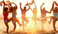 Best part of beach party is the venue the beach. Here are some tips that will help you on how to throw a beach party. Food is the essence of any party. Beach Images, Beach Pictures, Cool Pictures, Pictures Images, Free Images, Friendship Images, Happy Friendship, Friendship Wallpaper, Turn Your Life Around