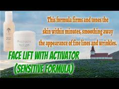 👍Nu Health Beauty - NU SKIN FACE LIFT WITH ACTIVATOR (SENSITIVE FORMULA)😍