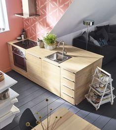 METOD/ASKERSUND keuken | IKEA IKEAnl IKEAnederland veelzijdig fronten deuren kasten opbergen opberger keukensysteem kookeiland keukeneiland hout houtlook interieur wooninterieur inspiratie wooninspiratie
