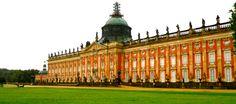 The Sanssouci Palace, Potsdam, Brandenburg, Germany.